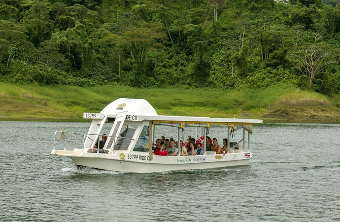 Ride Costa Rica Services - Lake Crossing