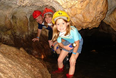 This tour goes through some tunnels and chambers inside the Venado Caves that were formed millions of years ago.